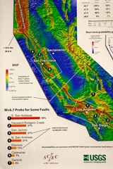 California Faults and Earthquake Probablity...