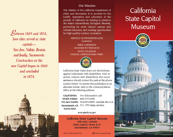 California state capitol museum map 10th amp l streets state fullsize california state capitol museum map sciox Gallery