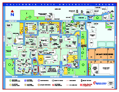 California State University - Fresno Map