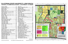 California State University at Long Beach Map