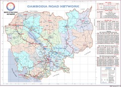 Cambodian National Road Map (also Index to...