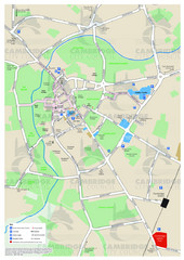 Cambridge Area Map