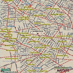 Cambridge, Massachusetts Map