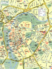 Cambridge Street Map