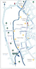 Cambridge Walking Map