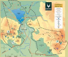 Camdeboo National Park Map
