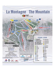 Camp Fortune Ski Trail Map