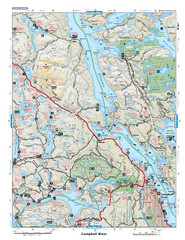 Campbell River Area Map