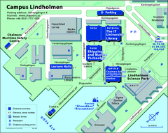 Campus Lindholmen Map
