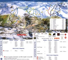 Camurac Ski Trail Map