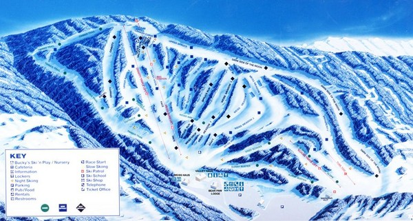 Ski Virginia Map.West Virginia Maps Mappery