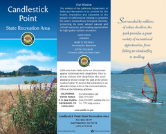 Candlestick Point Recreation Area Map