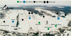 Cannonsburg Ski Area Ski Trail Map
