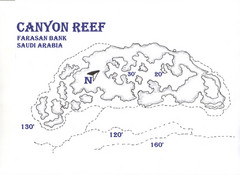 Canyon Reef Map