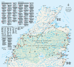 Cape Breton Highlands National Park Map