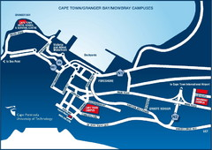 Cape Peninsula University of Technology Campus Map