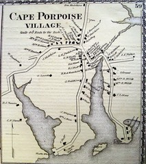 Cape Porpoise Village Map