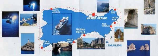 Capri Map Capri mappery