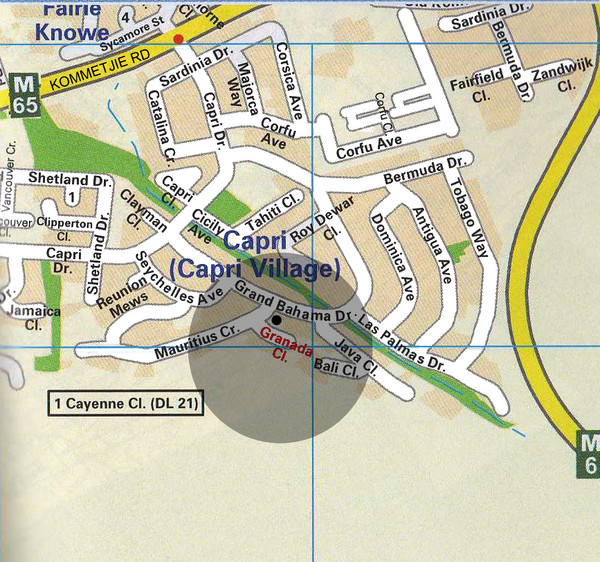 Capri Village Map