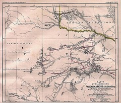 Captain Marcy's Route through Texas - 1895...
