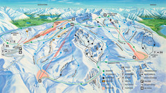 Cardrona Ski Trail Map