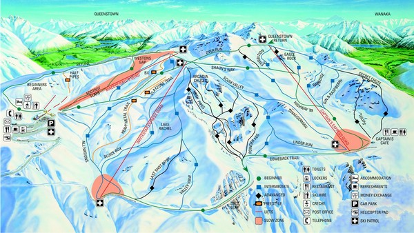 Cardrona Trail Map