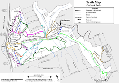 Carkeek Park Trail Map