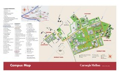 Carnegie Mellon Campus Map