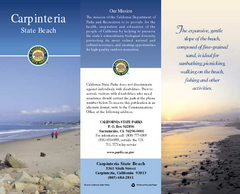 Carpinteria State Beach Map
