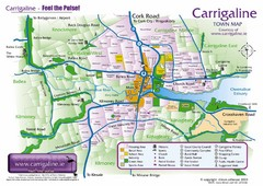 Carrigaline Town Map