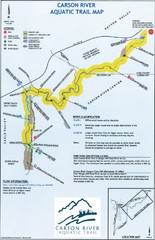 Carson River Aquatic Trail Map