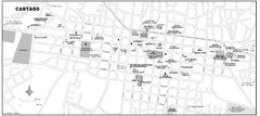 Cartago city Map