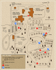 Castle Rigg Park Map