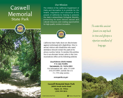 Caswell Memorial State Park Map