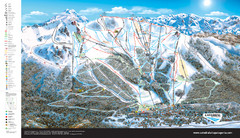 Catedral Alta Patagonia Ski Trail Map