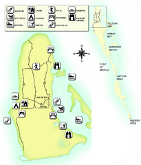Cayo Costa State Park Map