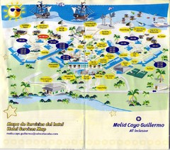 Cayo Guillermo Tourist Map