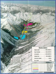 Cayoosh Resort (Melvin Creek) Ski Trail Map