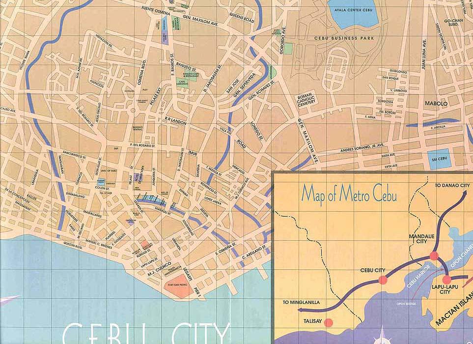 Cebu City Tourist Map - Cebu City • mappery Puerto Princesa Street Map on london street map, san juan street map, angeles city street map, baltimore street map, baku street map, hong kong street map, belfast street map, lisbon street map, san pablo city street map, quezon city street map,