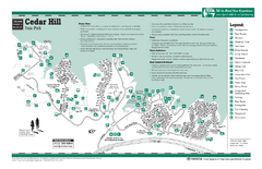 Cedar Hill, Texas State Park Facility Map