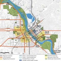 Cedar Rapids Tourist Map