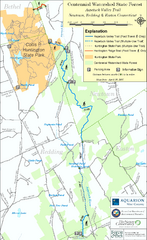 Centennial Watershed State Forest trail map
