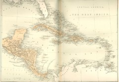 Central America and the West Indies Map