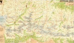 Central Caucasus Map