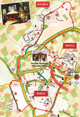 Central Malta Tour Map