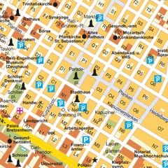 Central Mannheim Mp Map