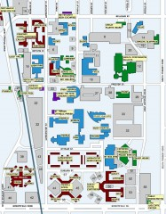 Central Michigan University Map