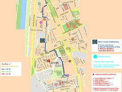 Central Seville Tourist Map