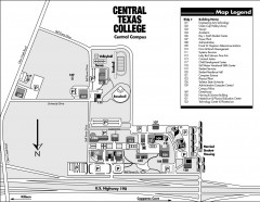 Central Texas College Map