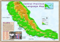 Central province language Map